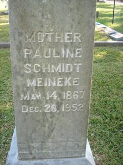 Pauline <i>Schmidt</i> Meineke