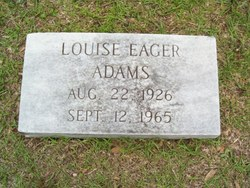 Louise Turpin <i>Eager</i> Adams