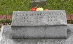 Addie Lee <i>Hardy</i> Brown