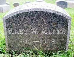 Mary W <i>Payson</i> Allen