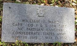 Capt William P Ward