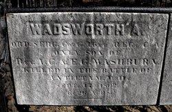 Sgt Wadsworth A Washburn