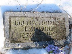 Dollie <i>Lincoln</i> Hammond
