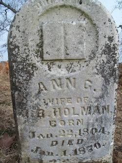 Ann Gibson <i>Campbell</i> Holman