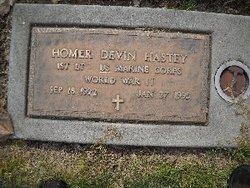 Homer Devin Hastey