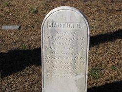 Martha C. or G. <i>Rosborough</i> Hemphill