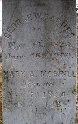 Mary Abigail <i>Morrill</i> Barnes