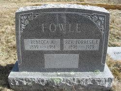 Rebecca Elizabeth <i>Armstrong</i> Fowle