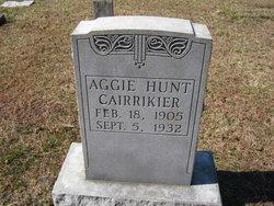 Aggie <i>Hunt</i> Cairrikier