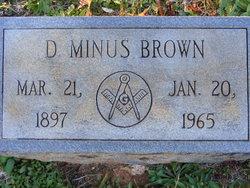 Daniel Minus Brown
