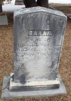 Sarah <i>Stanwood</i> Hodgdon