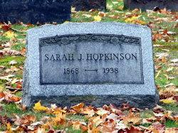 Sarah J. <i>Hutley</i> Hopkinson