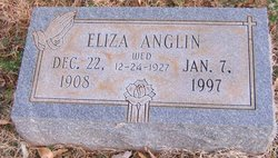Eliza Louise <i>Pack</i> Anglin