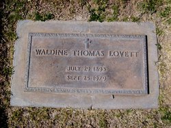 Waldine <i>Thomas</i> Lovett