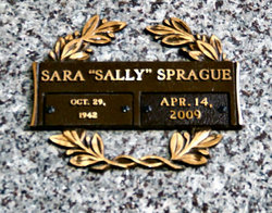 Sara Clements Sally <i>Kirkley</i> Sprague