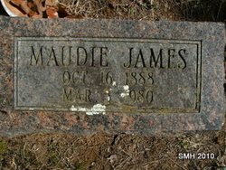 Maudena Maudie <i>Rowland</i> James