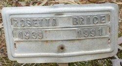 Rosetta Brice