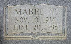 Mabel T. Evans