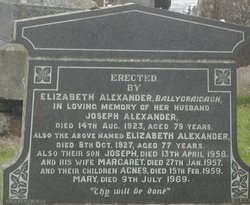 Elizabeth <i>Linton</i> Alexander