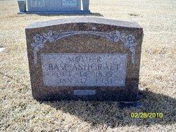 Bam <i>(Hobgood)</i> Ashcraft