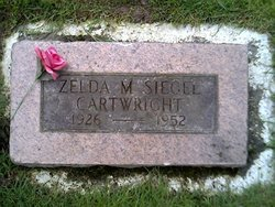 Zelda Marie <i>Siegel</i> Cartwright