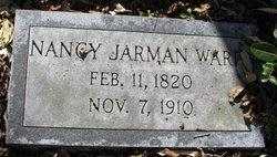 Nancy <i>Jarman</i> Ward