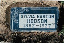 Sylvia Almira <i>Whiting</i> Barton Hodson