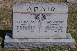 Bertha Lee <i>Brashears</i> Adair