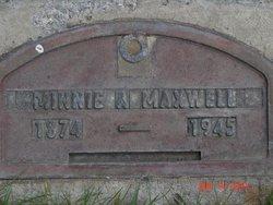 Minnie Alice <i>Miller</i> Maxwell