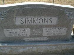 Frances <i>Gwynn</i> Simmons