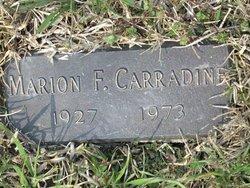 Marion Francis Carradine