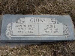 Hope M <i>Ables</i> Gutke