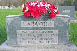 Marshel E Harwood