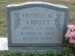Freddie M Abbott