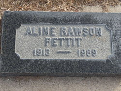 Aline <i>Rawson</i> Pettit