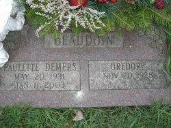 Paulette <i>Demers</i> Beaudoin