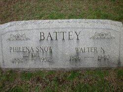 Philena Parker <i>Snow</i> Battey