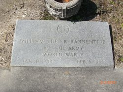 William Edgar Barrentine