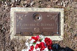 Florence C. Giboney <i>Blansett</i> Stewart