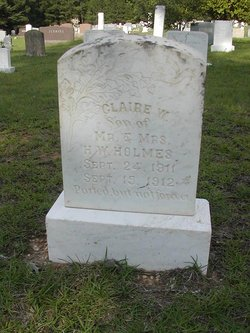 Claire W Holmes