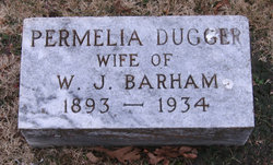 Permilla Jane <i>Dugger</i> Barham