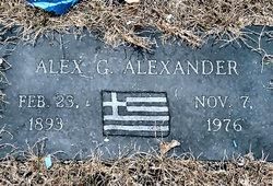 Alex G. Alexander