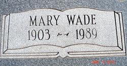 Mary Sue <i>Wade</i> Camp