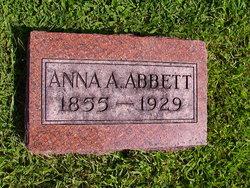 Anna A <i>Leeson</i> Abbett