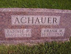 Fannie Alice <i>Reynolds</i> Achauer