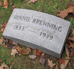 Wilhelmina Minnie <i>Kamphaus</i> Krenning