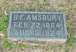 Benjamin Franklin Frank Amsbury
