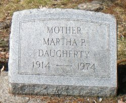 Martha Pearl <i>Schultz</i> Daugherty