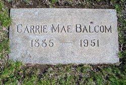 Caroline Mae Carrie <i>Cottle</i> Balcom
