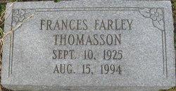 Frances <i>Farley</i> Thomasson